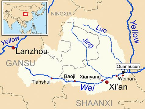 L'ancien village de Quanhucun